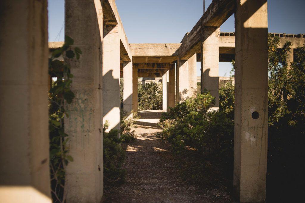 pre boda sitio abandonado diferente