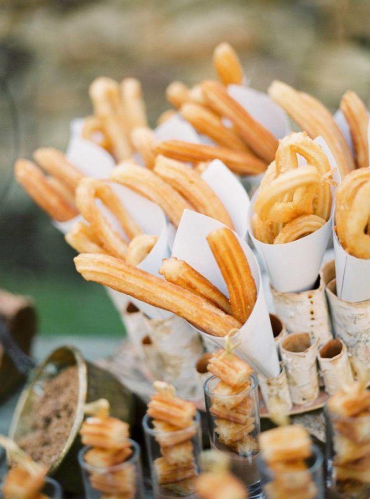 churros en boda original