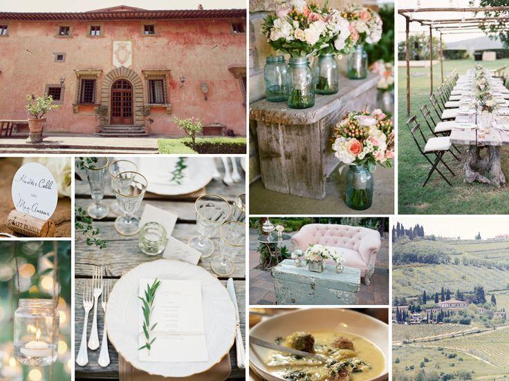 boda inspiracion toscana