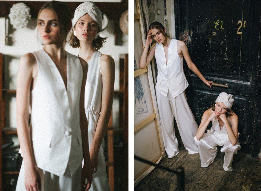 colección Bohème vestido de novia de L´arca